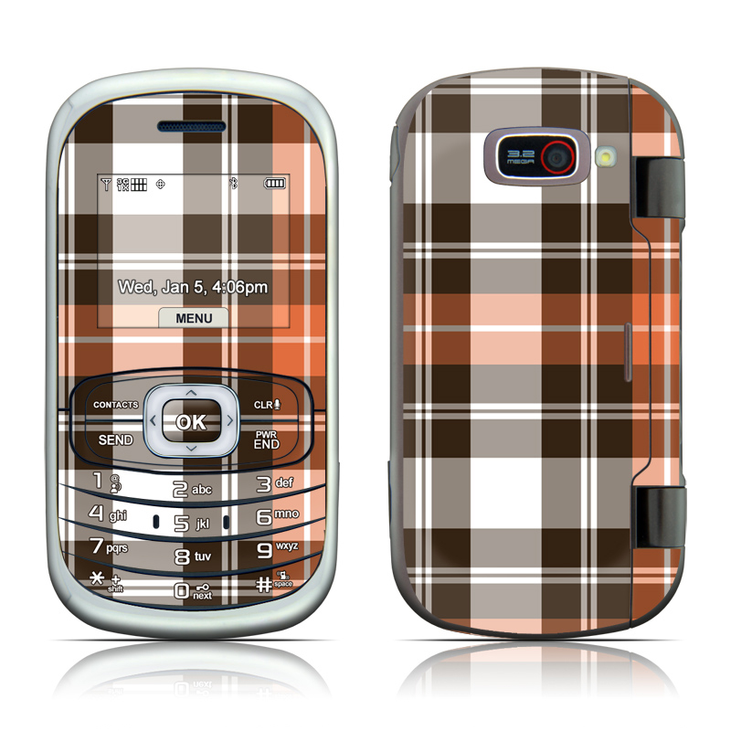 Copper Plaid LG Octane VN530 Skin