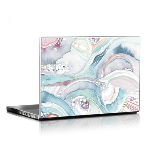 Abstract Organic Laptop Skin