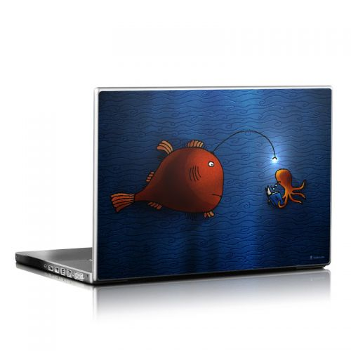 Angler Fish Laptop Skin