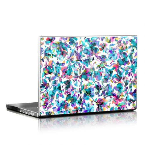 Aquatic Flowers Laptop Skin