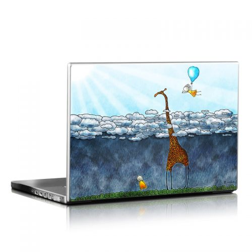 Above The Clouds Laptop Skin