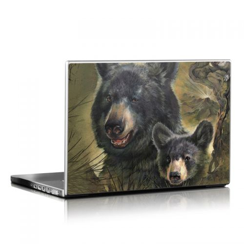Black Bears Laptop Skin