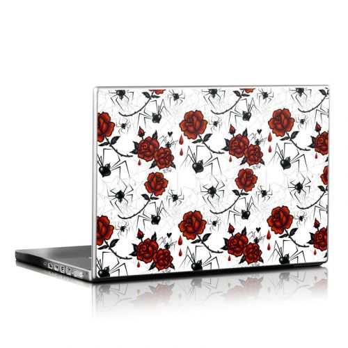 Black Widows Laptop Skin