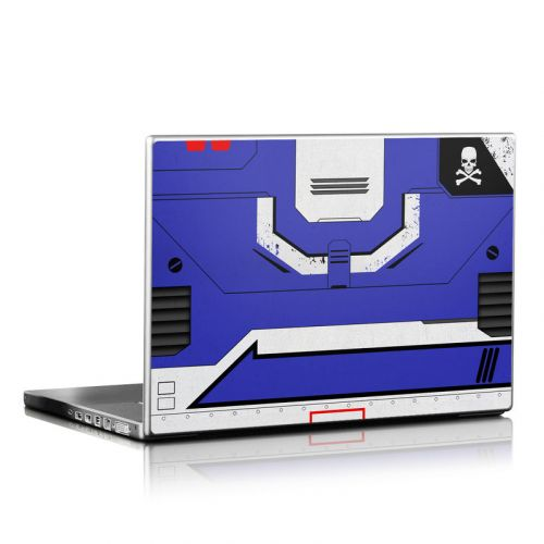 Blue Valkyrie Laptop Skin