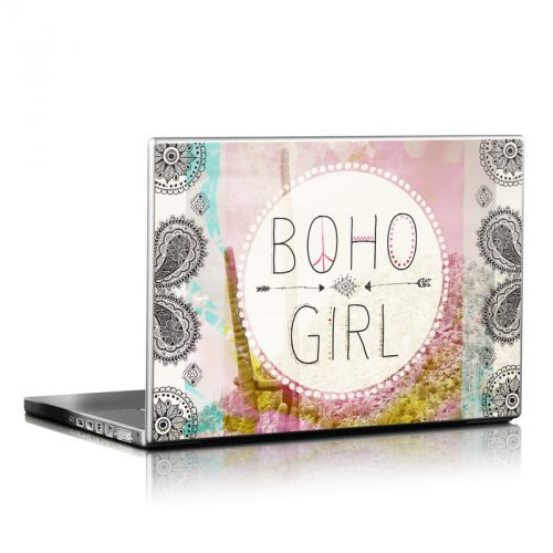 Boho Girl Laptop Skin