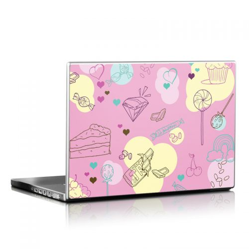 Pink Candy Laptop Skin
