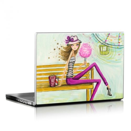 Carnival Cotton Candy Laptop Skin