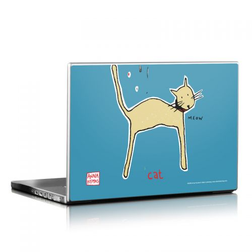 Cat Laptop Skin