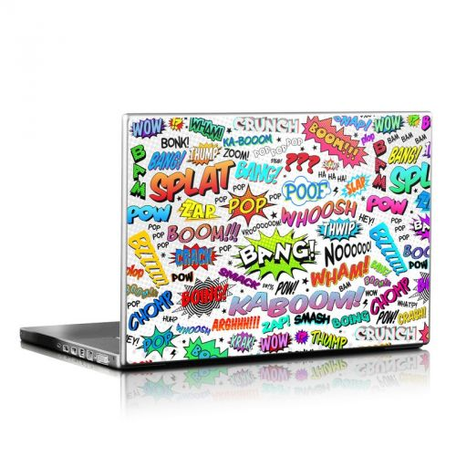 Comics Laptop Skin