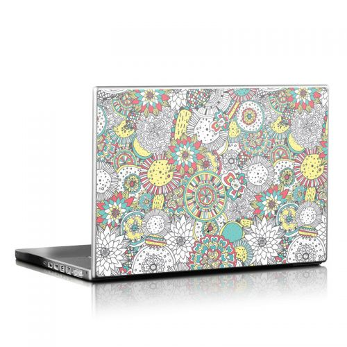 Faded Floral Laptop Skin
