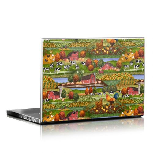 Farm Scenic Laptop Skin