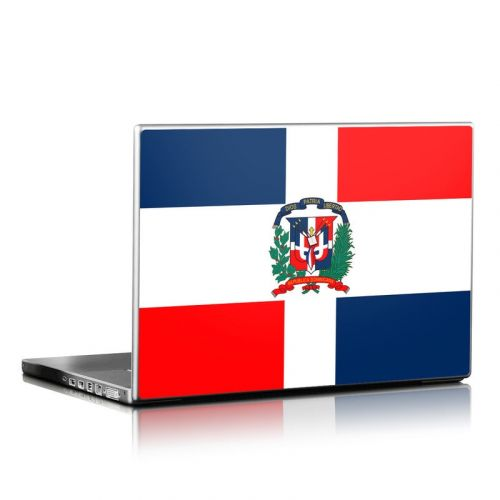 Dominican Republic Flag Laptop Skin