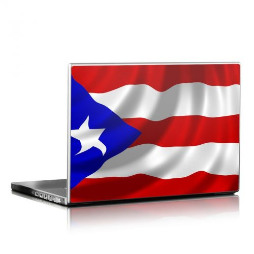 Puerto Rican Flag Laptop Skin