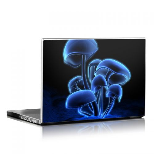 Fluorescence Blue Laptop Skin