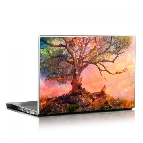 Fox Sunset Laptop Skin