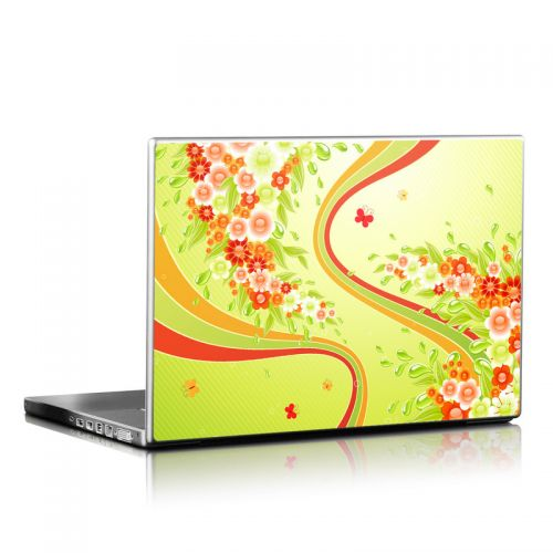 Flower Splash Laptop Skin