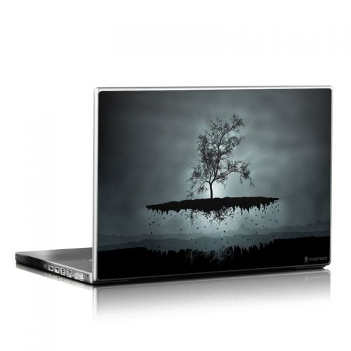 Flying Tree Black Laptop Skin