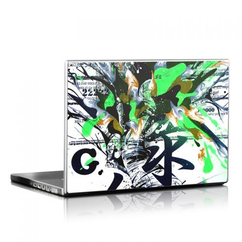 Green 1 Laptop Skin