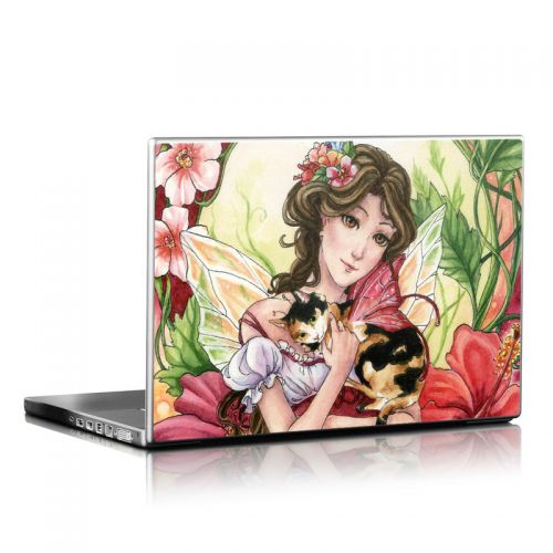 Hibiscus Fairy Laptop Skin