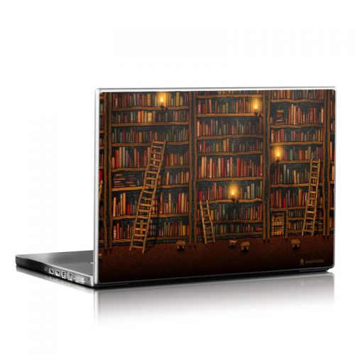 Library Laptop Skin