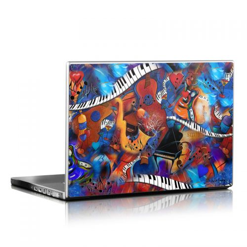 Music Madness Laptop Skin