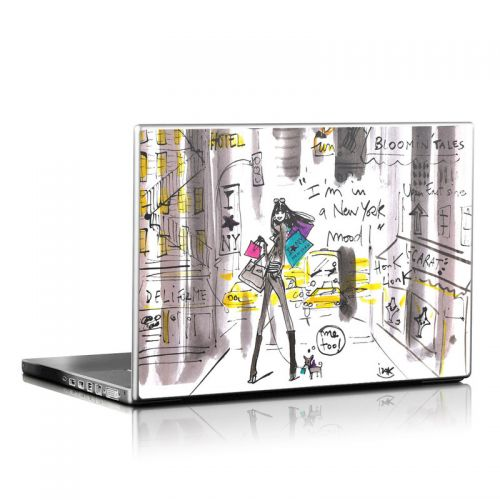 My New York Mood Laptop Skin