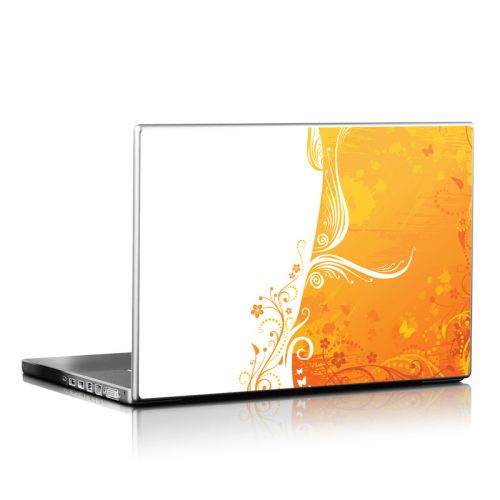 Orange Crush Laptop Skin