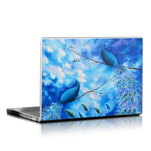 Paradise Peacocks Laptop Skin