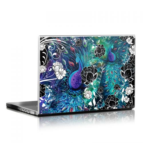 Peacock Garden Laptop Skin