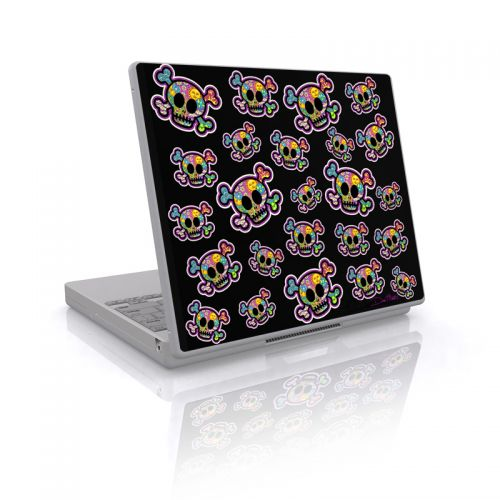 Peace Skulls Laptop Skin
