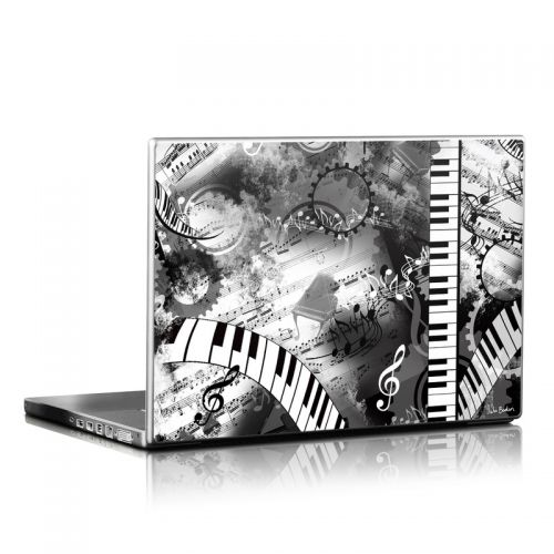Piano Pizazz Laptop Skin