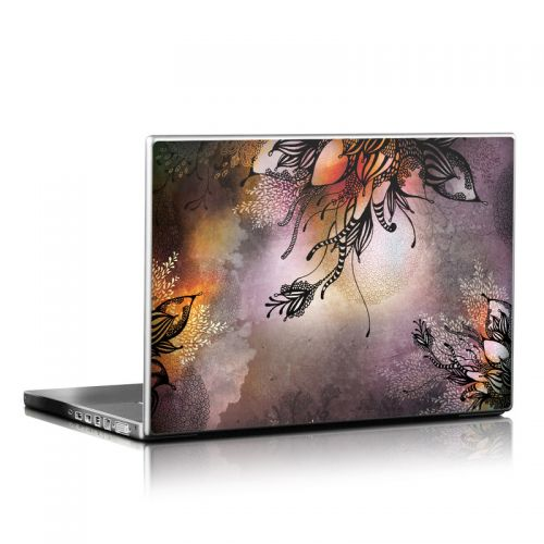 Purple Rain Laptop Skin