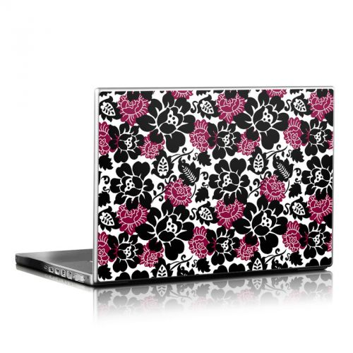 Rose Noir Laptop Skin