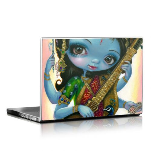 Saraswati Playing Laptop Skin