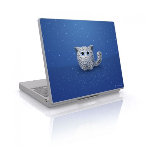 Snow Leopard Laptop Skin