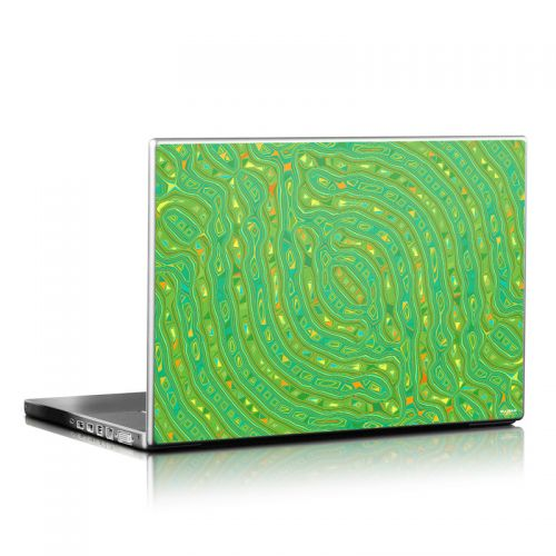 Speckle Contours Laptop Skin