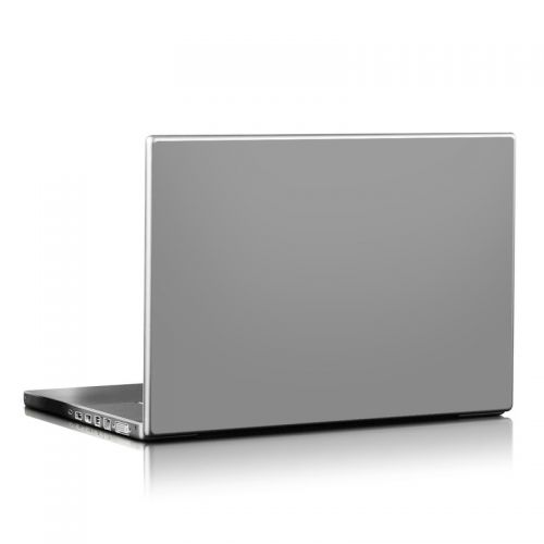 Solid State Grey Laptop Skin