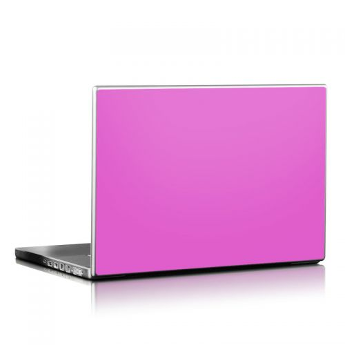 Solid State Vibrant Pink Laptop Skin