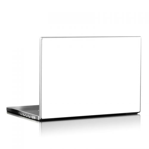 Solid State White Laptop Skin