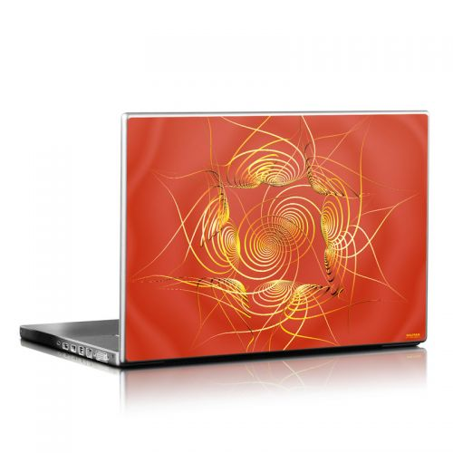 Spiral Stellations Laptop Skin