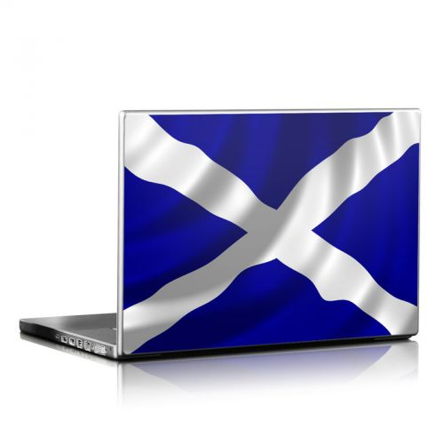 St. Andrew's Cross Laptop Skin