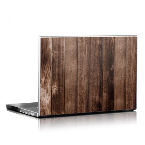 Stained Wood Laptop Skin