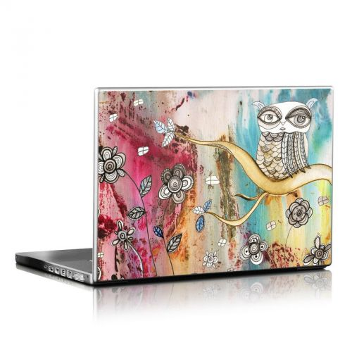 Surreal Owl Laptop Skin