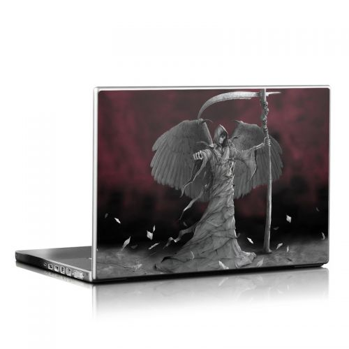 Time is Up Laptop Skin