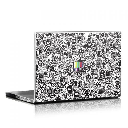 TV Kills Everything Laptop Skin