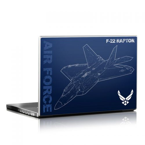 F-22 Raptor Laptop Skin