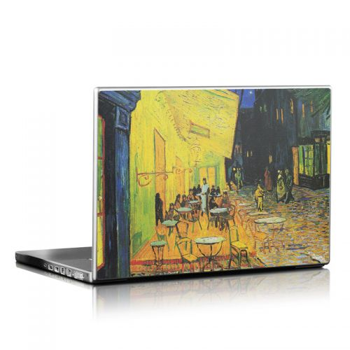 Cafe Terrace At Night Laptop Skin