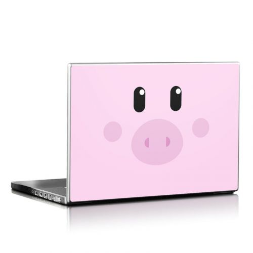 Wiggles the Pig Laptop Skin