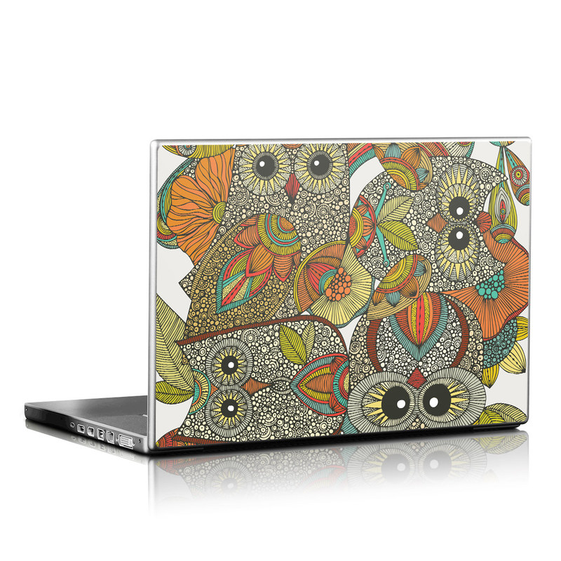 4 owls Laptop Skin