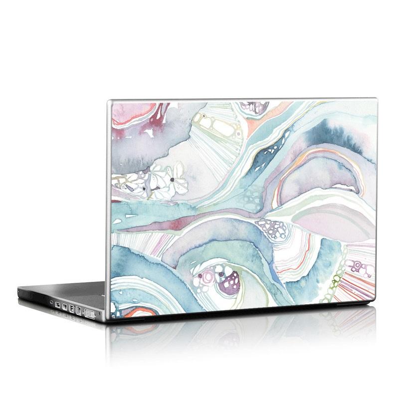 Abstract Organic Laptop Skin